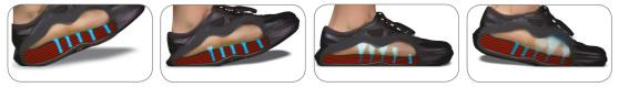 kybun Schuh mit Luftpolstersohle