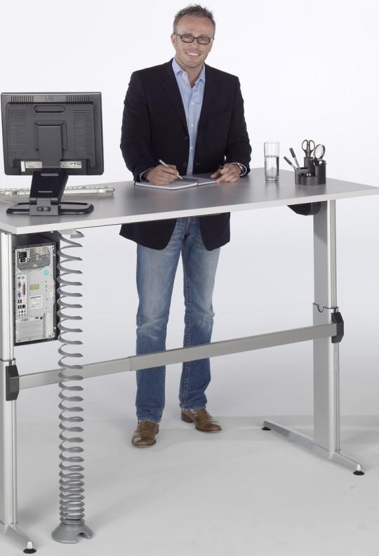 Steh- Büroplatz, Steh- Schreibtisch