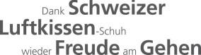 Dank Schweizer Luftkissen- Schuh wieder Freude am Gehen