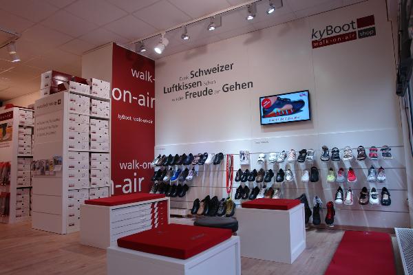 kyBoot Shop Ahrensburg im Checkpoint Vital