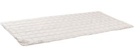 RELAX Matratzen- Auflage aus Baumwolle