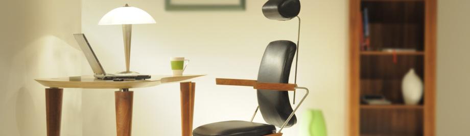 Stühle mit Kufen im Checkpoint Vital